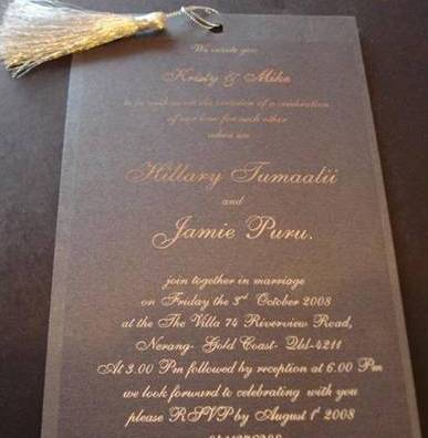 foil printing invitations melbourne